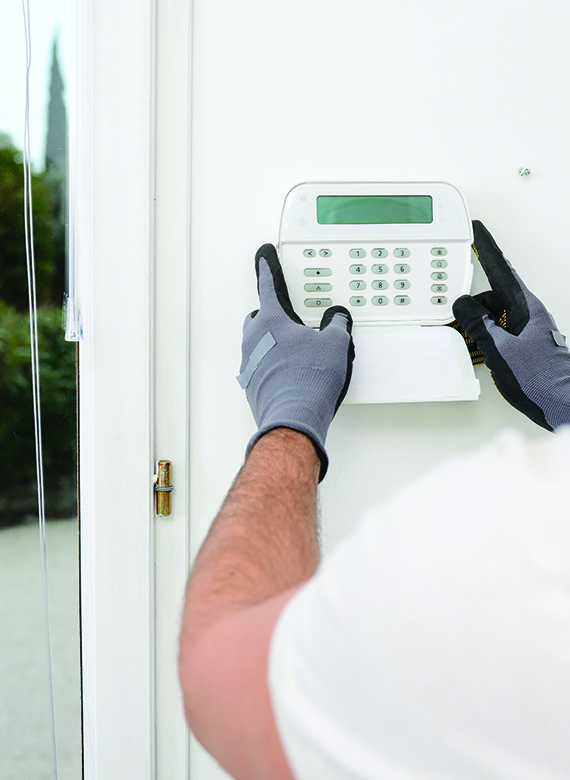 Comprehensive range of security alarms